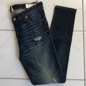 Rag & Bone Mid-Rise Skinny Jean